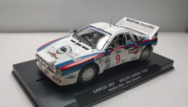 Fly Slot, 1:32 Fahrzeug, Lancia 037 Rallye Safari 1985 No. 9 Special Limited Edition, FY046304