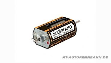 Scaleauto, Motor SC-25 Long-Can Sprinter-2 21500U/12V Welle gehäüseseitig, 0025B