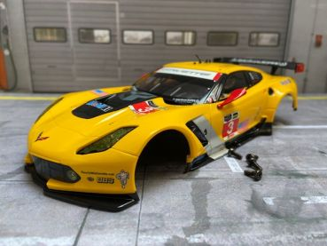 23818B Carrera Digital 124 Karosserie / Body Chevrolet Corvette C7.R No.3 NEU ungefahren