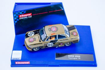 "Carrera Digital 132, BMW 2002 Ti ""Team Warsteiner"" 1975 #69, Carrera 30547, NEU in Originalbox"