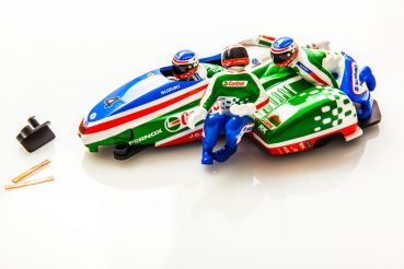 BRM 1:18 Sidecar Racing Team Castrol #4 Edition, Neuheit