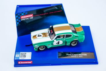 Carrera Digital 132, Ford Capri RS 1975 Group 2 #4, Carrera 30574, NEU in Originalbox
