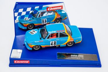"Carrera Digital 132, BMW 2002 Touringcar ""fischertechnik - Jörg Denzel"" 1976 #48, Carrera 30610, NEU in Originalbox"