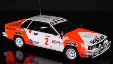 BEEMAX BE24014 1:24 Standmodellbausatz Nissan 240RS Team Nissan Safari Rallye 1984 #2