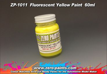 ZEROPAINTS ZP-1011 Fluorescent Yellow Paint 60ml