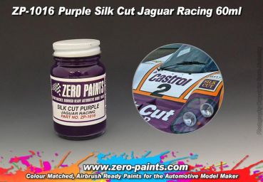 ZEROPAINTS ZP-1016 Silk Cut Purple Jaguar Racing Paint 60ml