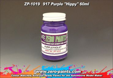 ZEROPAINTS ZP-1019 Porsche 917 Purple Hippie (Psychedelic Martini Racing Team) Paint 60ml