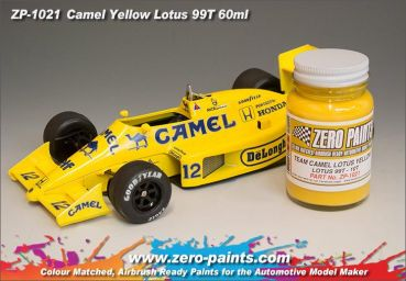 ZEROPAINTS ZP-1021 Team Camel Lotus Yellow (99T -100T) Paint 60ml