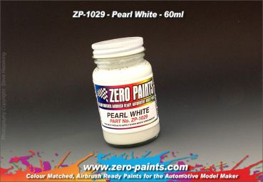 ZEROPAINTS ZP-1029 Pearl White Paint - 60ml