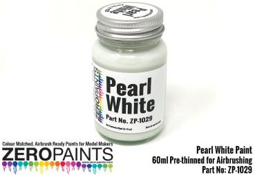 ZEROPAINTS ZP-1029 Pearl White Paint 60ml