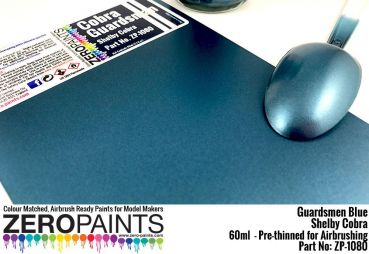 ZEROPAINTS ZP-1080 Cobra Guardsman Blue Paint 60ml