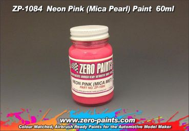 ZEROPAINTS ZP-1112 Neon Pink Paint - Mica Pearl 60ml