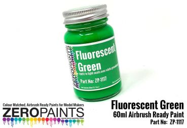 ZEROPAINTS ZP-1117 Fluorescent Green Paint 60ml