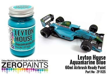 ZEROPAINTS ZP-1125 Leyton House Aquamarine Blue Paint 60ml