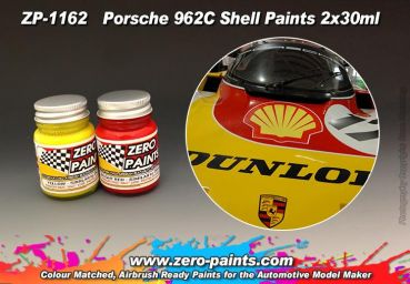 ZEROPAINTS ZP-1162 Porsche 962C Shell Paint Set 2x30ml