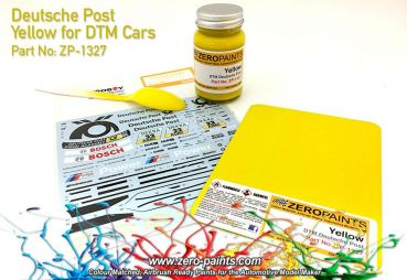 ZEROPAINTS ZP-1297 Yellow Paint ähnlich Deutsche Post Gelb 60ml