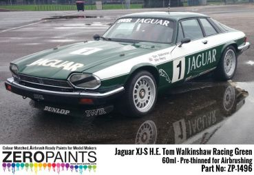 ZEROPAINTS ZP-1496 Jaguar XJ-S H.E. - Tom Walkinshaw - Racing Green (Grün) Paint 60ml