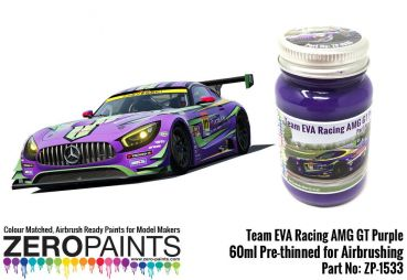 ZEROPAINTS ZP-1533 Team Eva Racing AMG GT Purple Paint 60ml
