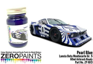 ZEROPAINTS ZP-1613 Lancia Beta Montecarlo Gr. 5 Pearl Blue Paint 60ml
