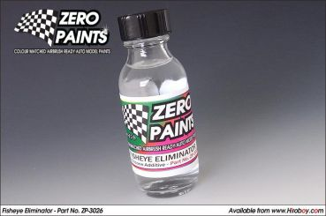 ZEROPAINTS ZP-3026 Fisheye Eliminator - Anti-Silicone Additive - 30ml