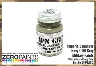 ZEROPAINTS ZP-MIL-1012 Imperial Japanese Navy (IJN) Grey Paint 30ml