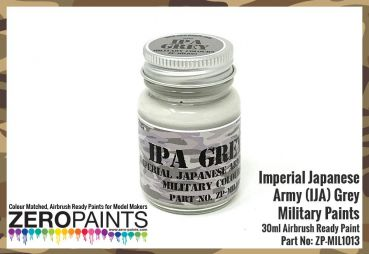 ZEROPAINTS ZP-MIL-1013 Imperial Japanese Army (IJA) Grey Paint 30ml