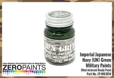 ZEROPAINTS ZP-MIL-1014 Imperial Japanese Navy (IJN) Green Paint 30ml