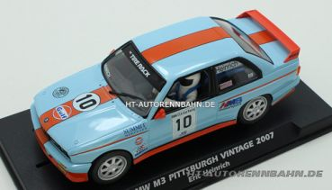 Fly Slot, 1:32 BMW M3 E30 Pittsburgh 2007 #10, 038106
