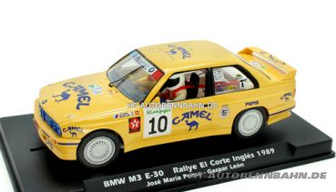 Fly Slot, 1:32 BMW M3 E30 Cortes Ingles 1989 #10, 038301