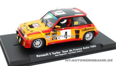 Fly Slot, 1:32 Renault R5 Turbo Tour France Auto 1980 #4, 88179