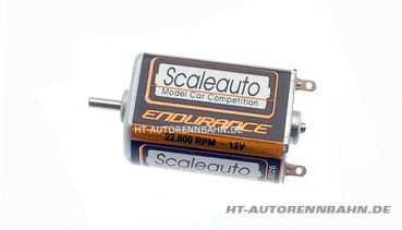 Scaleauto, Motor SC-26 Long-Can Endurance 22000U/12V Welle gehäuseseitig, 0026