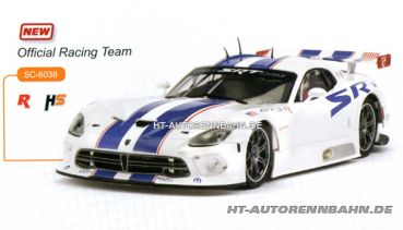 Scaleauto, 1:32 Viper GTS-R Official Racing Team m.HS-Fahrwerk Sidewinder, 6038