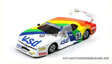 Scaleauto, 1:32 BMW M1 Gr.5 Le Mans 1981 #51 m.HS-Chassis Sidewinder, 6059