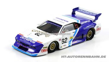 Scaleauto, 1:32 BMW M1 Gr.5 Le Mans 1982 #62 m.HS-Chassis Sidewinder, 6060