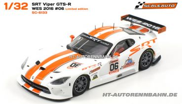 Scaleauto, 1:32 Viper GTS-R WES 2016 #06 Special Limited Edition m.HS-Fahrwerk Sidewinder, 6133