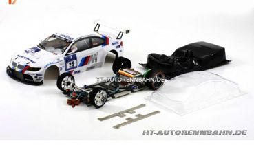 Scaleauto, 1:24 BMW M3 #25 Full Racing RC Competition Kit m.GT3 Fahrwerk, 7022RC
