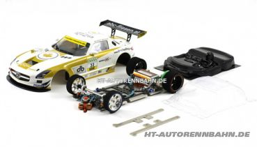 Scaleauto, 1:24 Mercedes SLS #32 Full Racing RC Competition Kit m.GT3 Fahrwerk, 7028RC