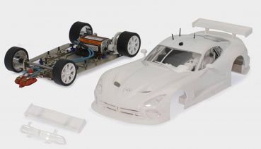 Scaleauto Viper GTS-R White KIT