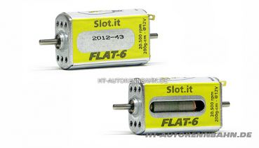 Slot.It, Motor Flat/6-20K 20000Upm/12V, MN09CH