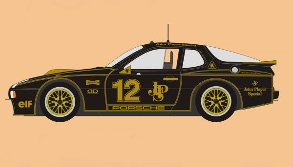Falcon Porsche 924 R Turbo JPS #12 Flying Again Limited Edition