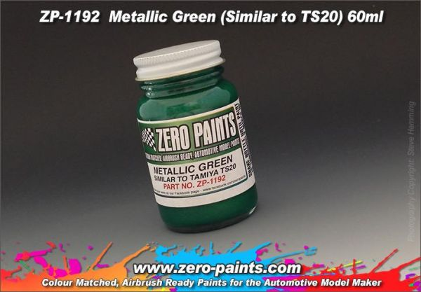 ZEROPAINTS ZP-1192 Metallic Green (Similar to TS20) 60ml