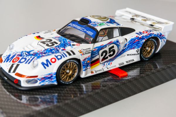 BRM-043 Porsche 911GT1, Team Mobil1, 2nd Le Mans 1996 #25 Limited Edition