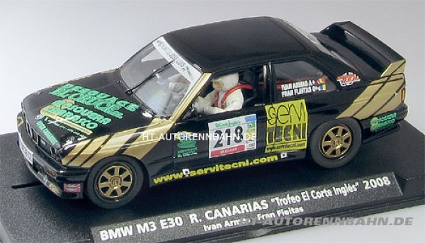 Fly Slot, 1:32 BMW M3 E30 Corte Ingles 2008 #218, F10302