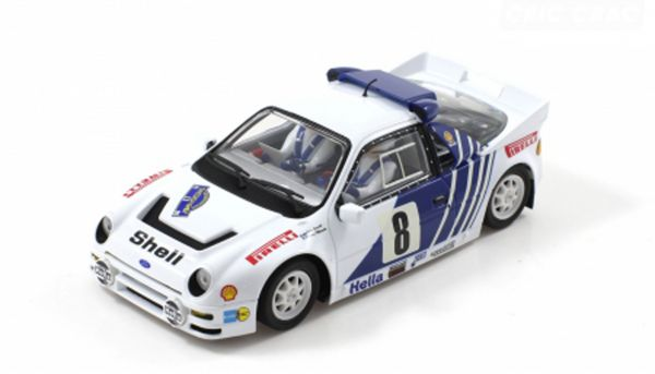 Scaleauto Ford RS 200 Gr.B Rally Sweden 1986 #8 m.R-Fahrwerk Anglewinder