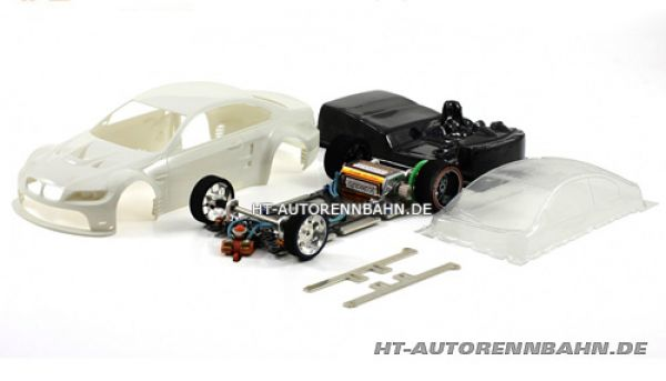 Scaleauto, 1:24 BMW M3 Full Racing RC Competition White Kit m.GT3 Fahrwerk, 7009RC