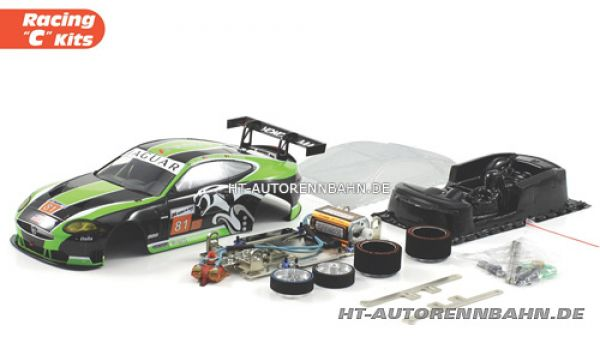 Scaleauto, 1:24 Jaguar XKR #81 Full Racing C Competition Kit, 7023C