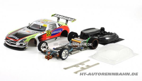 Scaleauto, 1:24 Mercedes SLS #23 Full Racing RC Competition Kit m.GT3 Fahrwerk, 7024RC