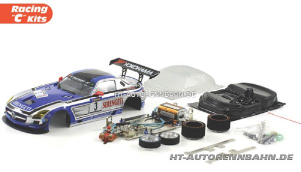 Scaleauto, 1:24 SLS AMG #3 Full Racing C Cometition Kit, 7027C