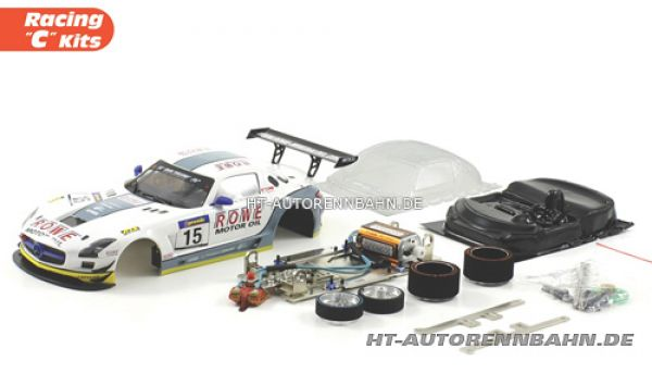 Scaleauto, 1:24 SLS AMG #15 Full Racing C Cometition Kit, 7046C