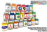 ZEROPAINTS ZP-1000 Custom Paint Mixing Service 60ml